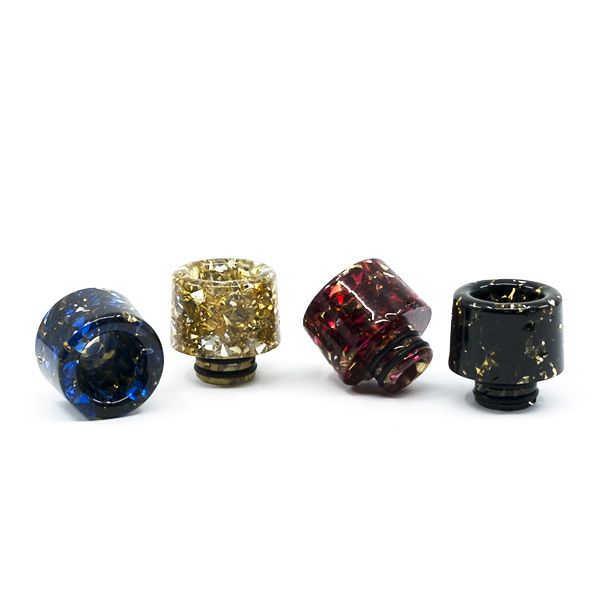 Drip Tips 510 Gold epoxy